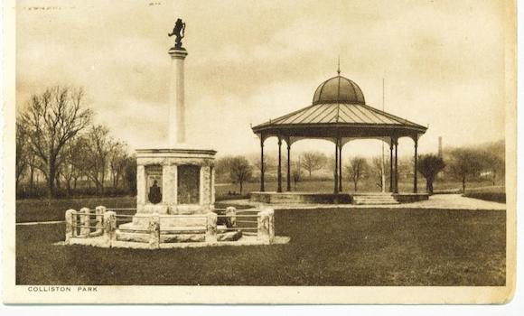 Bandstand and War Memorial Dalbeattie