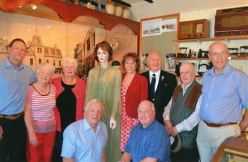 Dalbeattie Museum Volunteers and Esther Rantzen